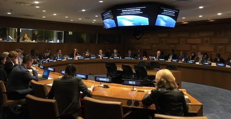 Photo: The consultation event for the publication at the UN in February 2019. Credit: UN.