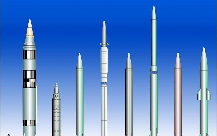 Photo: Intermediate-range ballistic missiles. Credit: Wikimedia Commons