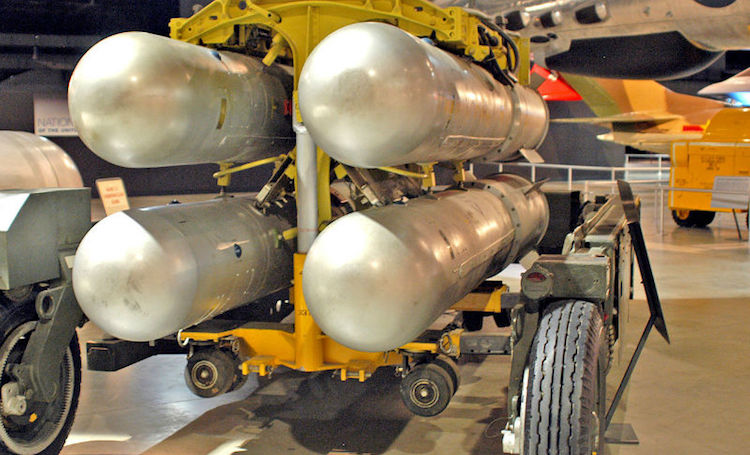 Photo: Nuclear disarmament in the Middle East. Credit: USA Air Force.