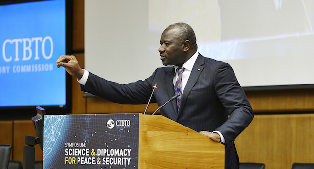 CTBTO Chief Lassina Zerbo | Credit: CTBTO