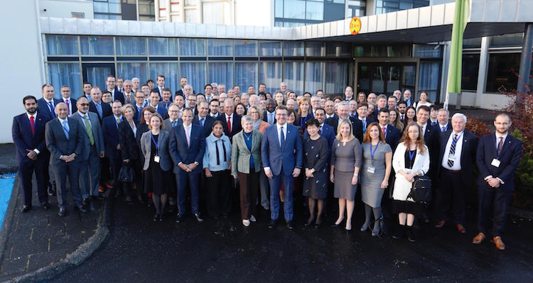 Photo: NATO Conference group photo. Credit: Ministry of Foreign Affairs of Iceland.