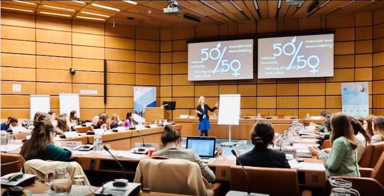 Photo: The OSCE-ODA Scholarship for Peace and Security focuses on training young professionals -women in particular- in conflict prevention, conflict management and conflict resolution through arms control, disarmament and non-proliferation. Credit: UNODA